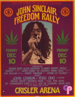 Crisler Arena, Ann Arbor, MI 12/10/70