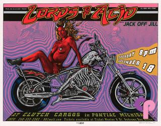 Clutch Cargo's. Pontiac, MI 11/18/97