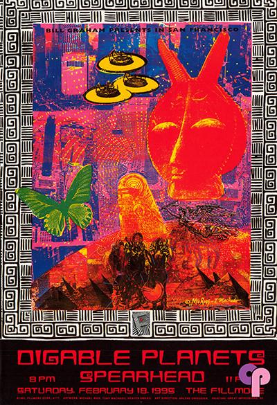 Fillmore Auditorium San Francisco, CA 2/18/95
