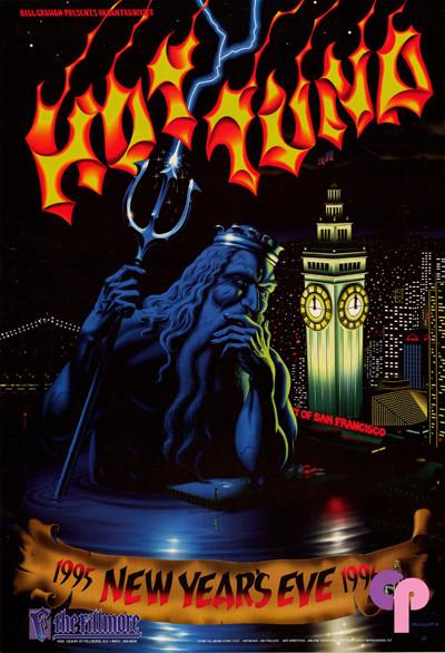 Fillmore Auditorium San Francisco, CA 12/31/95