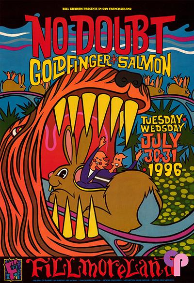 Fillmore Auditorium San Francisco, CA 7/30-31/96