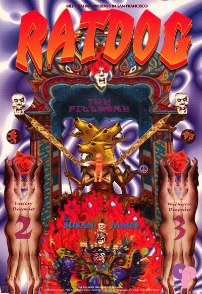 Fillmore Auditorium San Francisco, CA 12/2-3/97