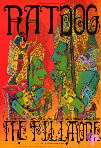 Fillmore Auditorium San Francisco, CA 2/24-25/98