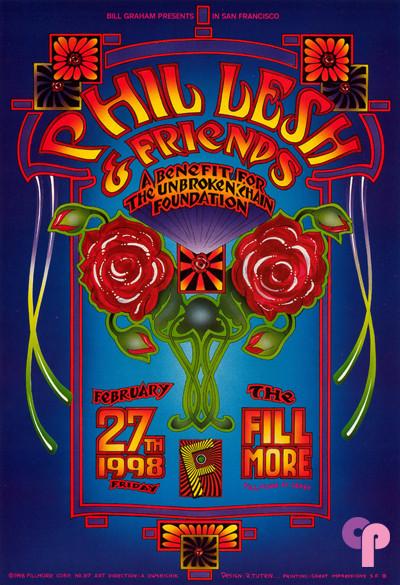 Fillmore Auditorium San Francisco, CA 2/27/98