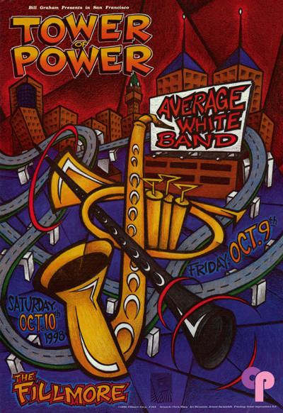 Fillmore Auditorium San Francisco, CA 10/9-10/98