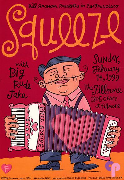 Fillmore Auditorium San Francisco, CA 2/14/99