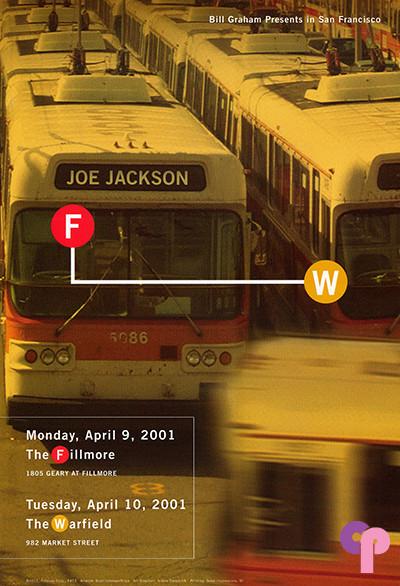 Fillmore Auditorium San Francisco, CA 4/9-10/01