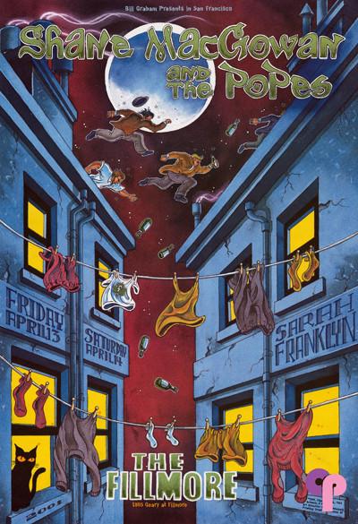 Fillmore Auditorium San Francisco, CA 4/13-14/01