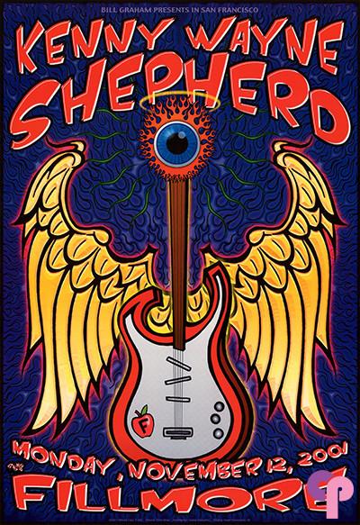 Fillmore Auditorium San Francisco, CA 11/12/01