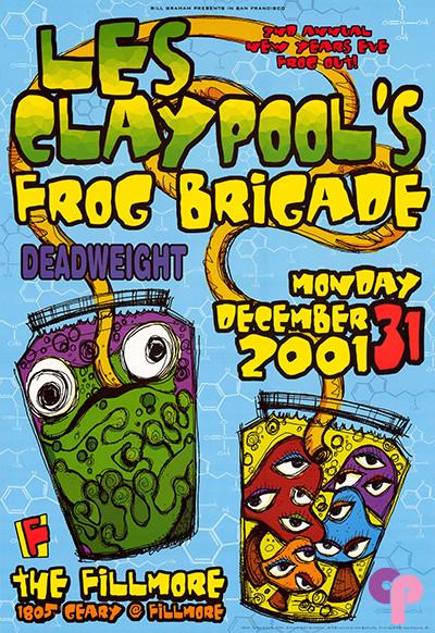 Fillmore Auditorium San Francisco, CA 12/31/01