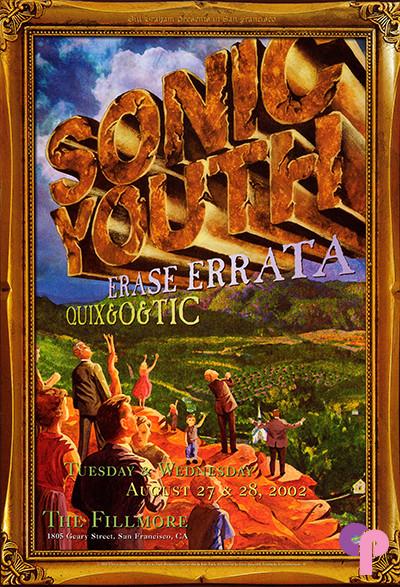 Fillmore Auditorium San Francisco, CA 8/27-28/02
