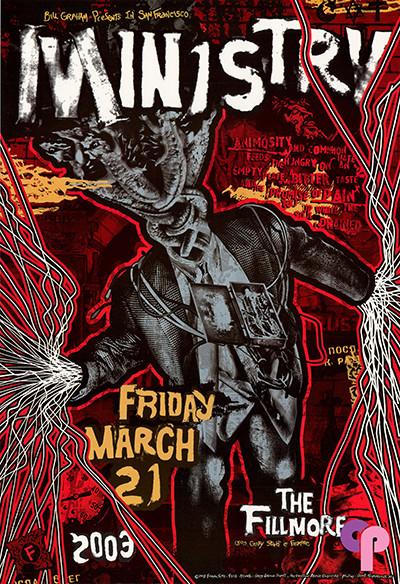 Fillmore Auditorium San Francisco, CA 3/21/03