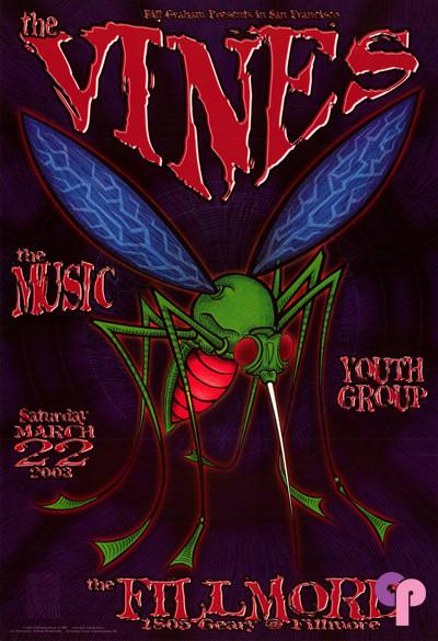 Fillmore Auditorium San Francisco, CA 3/22/03