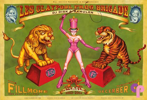 Fillmore Auditorium San Francisco, CA 12/31/03