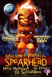 Fillmore Auditorium San Francisco, CA 11/26-27/04