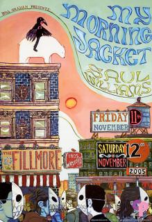 Fillmore Auditorium San Francisco, CA 11/11/05