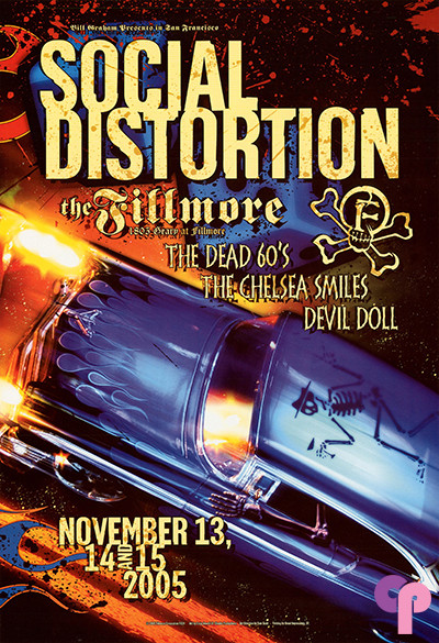 Fillmore Auditorium San Francisco, CA 11/13-15/05