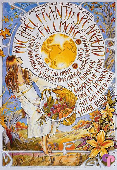 Fillmore Auditorium San Francisco, CA 11/25/05