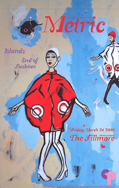 Fillmore Auditorium, San Francisco, CA 3/24/06