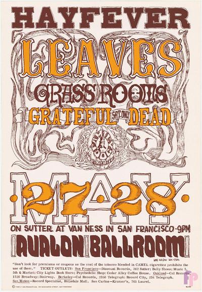 Avalon Ballroom 5/27-28/66