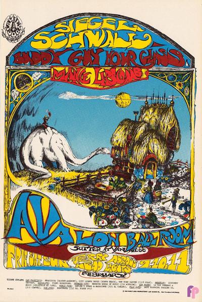 Avalon Ballroom 2/9-11/68