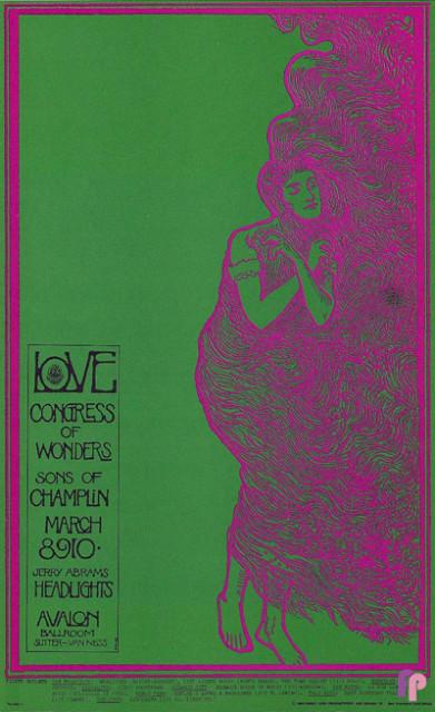 Avalon Ballroom 3/8-10/68