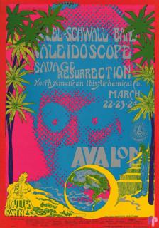 Avalon Ballroom 3/22-24/68