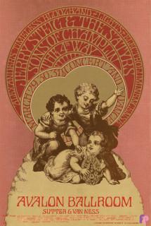 Avalon Ballroom 3/29-31/68