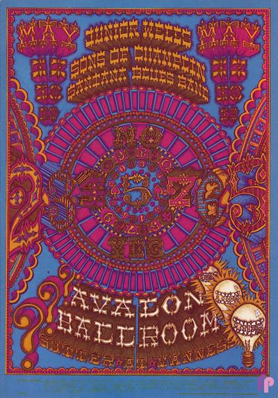Avalon Ballroom 5/17-19/68