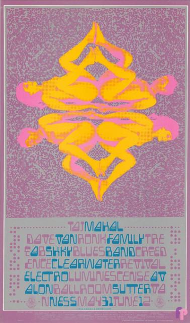 Avalon Ballroom 5/31-6/2/68
