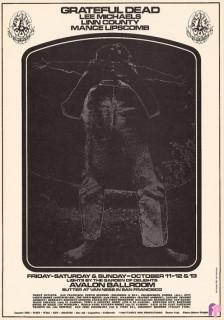 Avalon Ballroom 10/11-13/68
