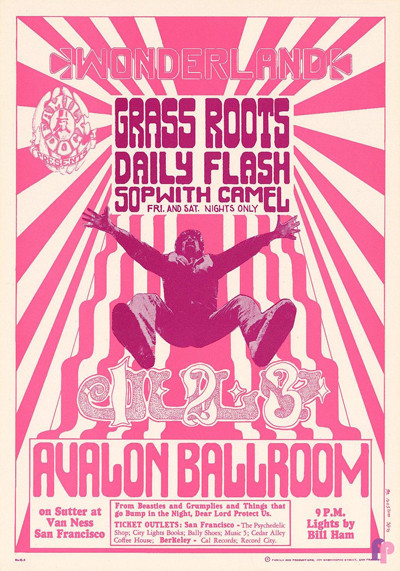 Avalon Ballroom 7/1-3/66