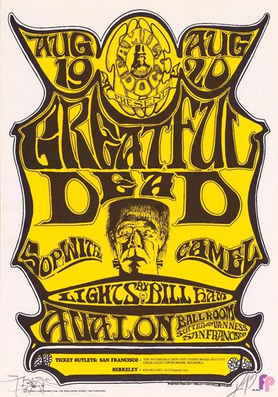 Avalon Ballroom 8/19-20/66