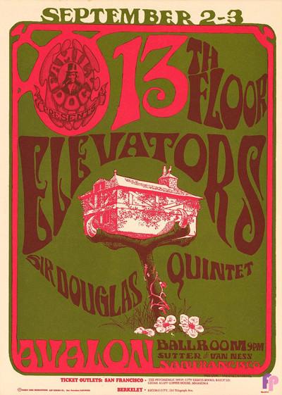 Avalon Ballroom 8/2-3/66