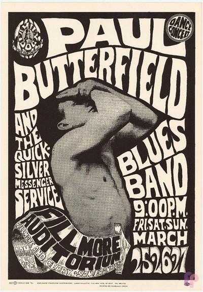 Fillmore Auditorium 3/25-27/66