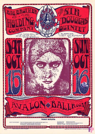 Avalon Ballroom 10/15-16/66
