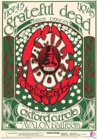 Avalon Ballroom 11/3-4/66