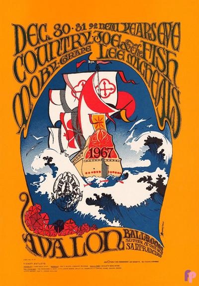 Avalon Ballroom 12/30-31/66