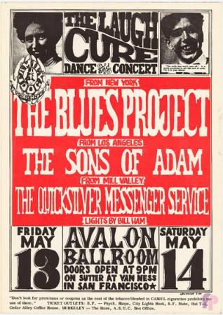 Avalon Ballroom 5/13-14/66
