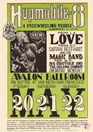 Avalon Ballroom 5/20-22/66