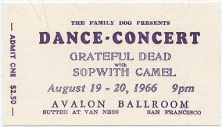 Original Concert Ticket