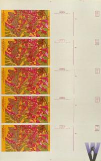 Postcard - Type A Uncut Sheet