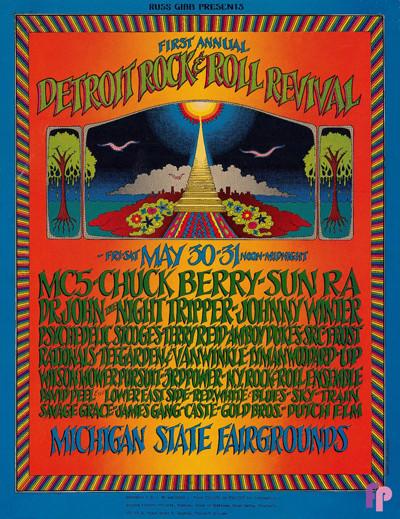 Michigan State Fairgrounds 5/30 & 31/69