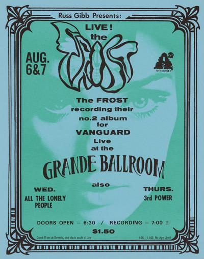 Grande Ballroom 8/6 & 7/69