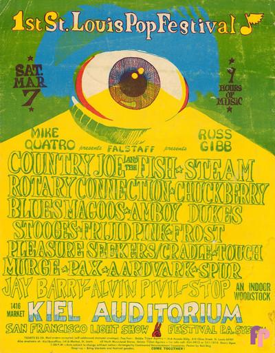 Kiel Auditorium, St Louis, MO 03/07/70