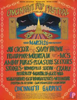 Cincinnati Pop Festival 3/26/70