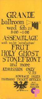 Grande Ballroom 2/24/71
