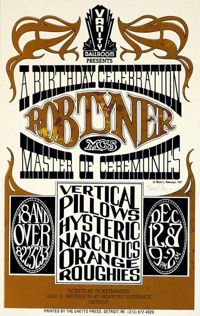 Vanity Ballroom, Detroit MI 12/12/87