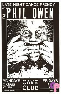 Cave Club, Austin, TX 1/1/87