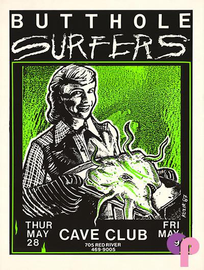 Cave Club, Austin, TX 5/28-29/87